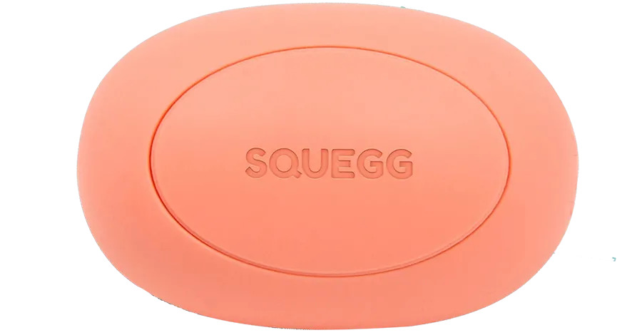 ERGONOMIC DESIGN - soft silicone outer covering is pleasant to touch and generates a good feeling with every squeeze