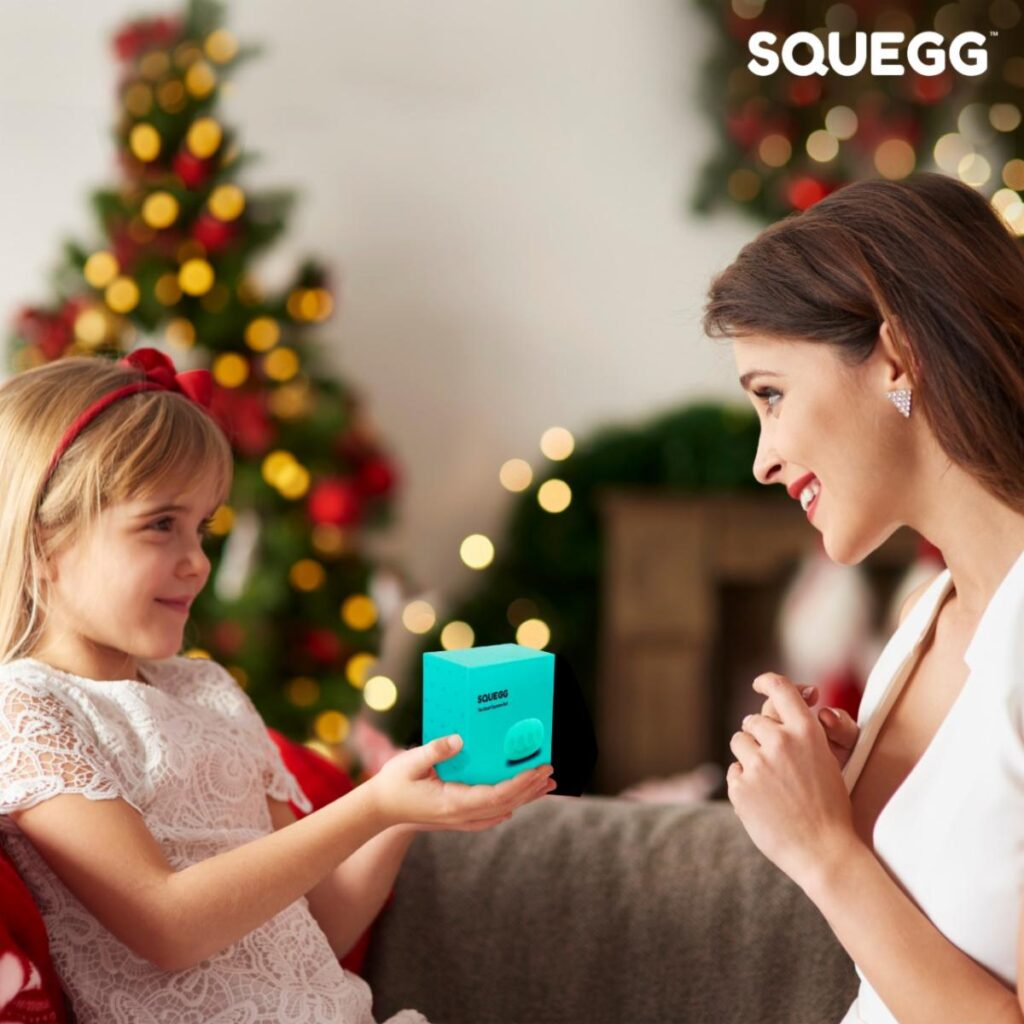 """alt=""""gift of Squegg to mom"""""""